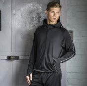 Churchill Lightweight running hoodie with reflective tape